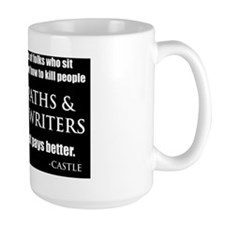 Mystery Writers Pillow Mug