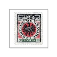 "albania Square Sticker 3"" x 3"""