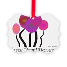 Nurse Practitioner Trees PINK Ornament