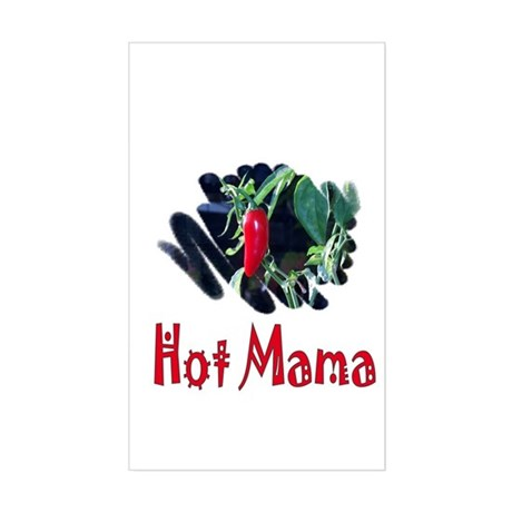 Hot Mama Rectangle Sticker