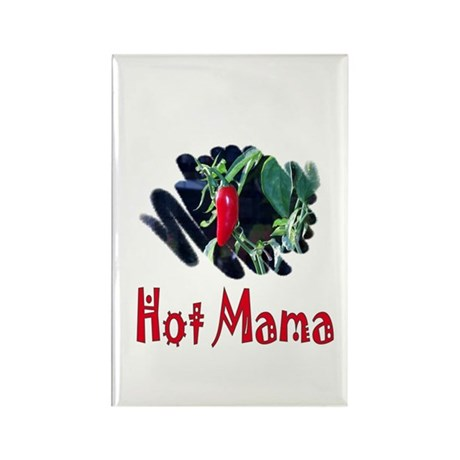 Hot Mama Rectangle Magnet