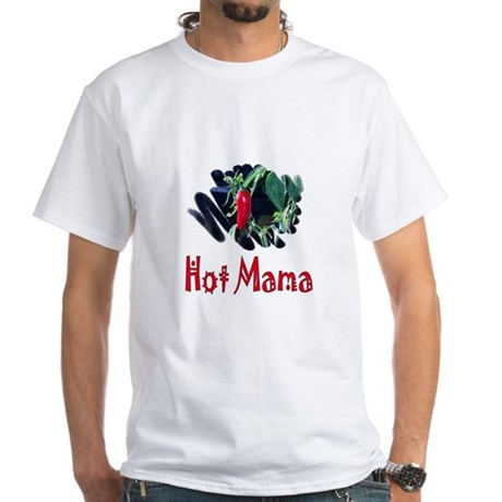 Hot Mama White T-Shirt