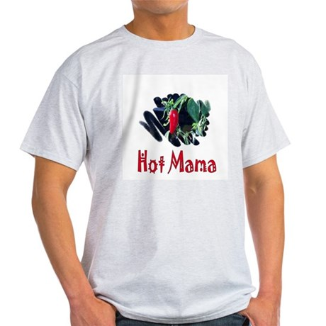 Hot Mama Ash Grey T-Shirt