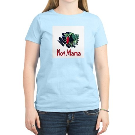 Hot Mama Women's Pink T-Shirt