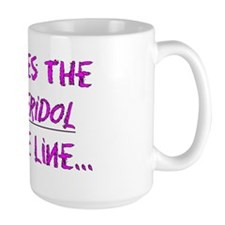it pushes the haldol into the line PINK Mug