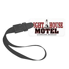 Lighthouse Motel Luggage Tag