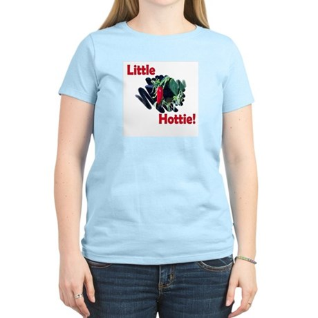 Little Hottie Women's Pink T-Shirt