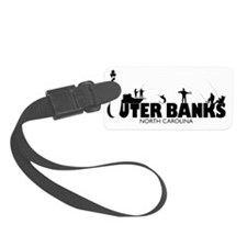 OUTERBANKS-fishing Luggage Tag