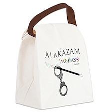 Alakazam Wht Canvas Lunch Bag