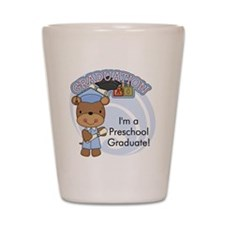 123bearpreschoolgrad3 Shot Glass