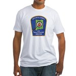 Dutchess Fire Investigation Fitted T-Shirt