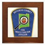 Dutchess Fire Investigation Framed Tile