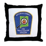 Dutchess Fire Investigation Throw Pillow