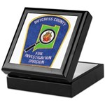 Dutchess Fire Investigation Keepsake Box