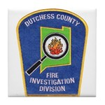 Dutchess Fire Investigation Tile Coaster