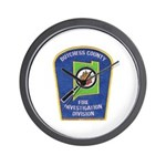 Dutchess Fire Investigation Wall Clock