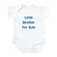 Little Brother For Sale Infant Bodysuit