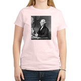 Jefferson Good Policies Women's Pink T-Shirt