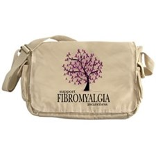 Fibromyalgia-Tree Messenger Bag