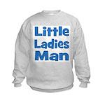 Little Ladies Man Kids Sweatshirt