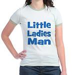 Little Ladies Man Jr. Ringer T-Shirt