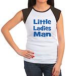 Little Ladies Man Women's Cap Sleeve T-Shirt