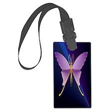 441_iphone_casePOne Big Purple B Luggage Tag