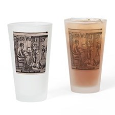 Dorcas Woolen Yarn Drinking Glass