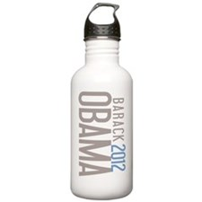 SimpleOBAMA2012ro Sports Water Bottle