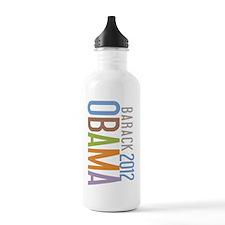 SimpleOBAMA2012cro Sports Water Bottle