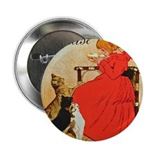 "Steinlen_Lait 2.25"" Button"