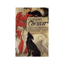 steinlen_cheron Rectangle Magnet