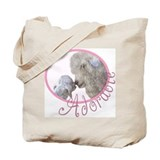 GOAT Adorable Baby Pink Tote Bag