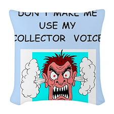collector Woven Throw Pillow