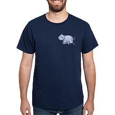 Indigo Hippo T-Shirt