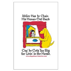 Yeller Chains Large Poster