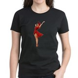 Lady In Red Tee