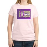 Women's bunny T-Shirt in pink