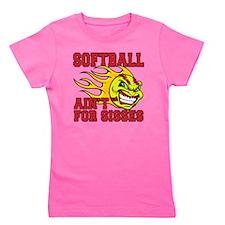 softball sisses Girl's Tee