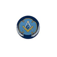 Masonic Blanket Mini Button