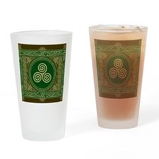 Celtic Blanket Drinking Glass