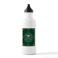 Green Man Blanket Water Bottle