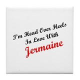 In Love with Jermaine Tile Coaster