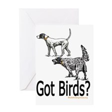 got birds copy Greeting Card