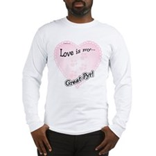 Love is Great Pyr Long Sleeve T-Shirt