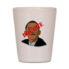 Obama Douche Shot Glass