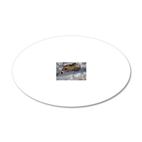 D1271-005cal 20x12 Oval Wall Decal