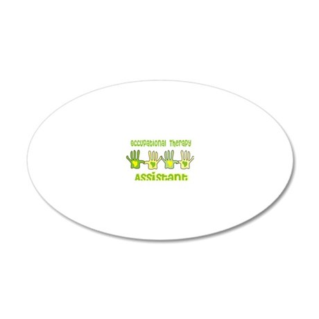 Occupational Therapy Assista 20x12 Oval Wall Decal