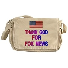 FOX NEWS Messenger Bag