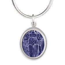 blankethekate2 Silver Oval Necklace